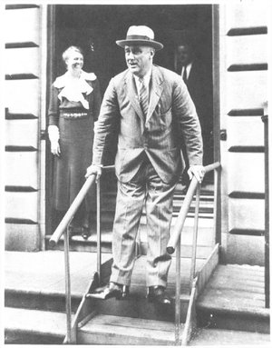 Image result for fdr was stricken with polio in 1921