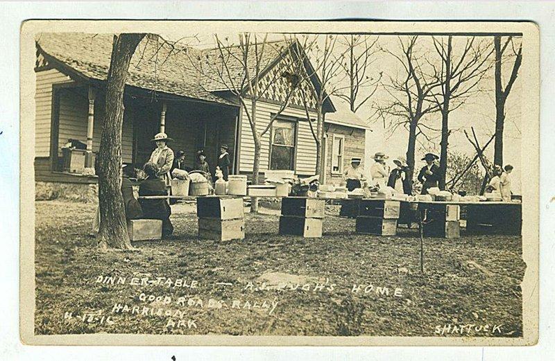 Arkansas postcard past