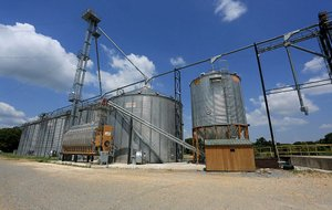 Grain silos near Brinkley are owned by Agribusiness Properties LLC, a sister company of Turner Grain Merchandising. The operation was shut down temporarily by federal agents on Aug. 14 after they found no grain in the facility's five elevators.