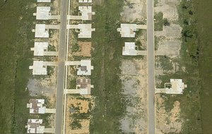 One home remains (top right) in the Parkwood Meadows neighborhood of Vilonia where more than 50 houses were destroyed in an April 27 tornado. Sen. Mark Pryor has filed legislation to create a tax credit, worth up to $1,000, for people who have storm shelters or safe rooms installed in their homes.