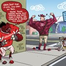 Texas A&M Hogtoon