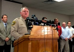 'No other suspects' in Carter case, sheriff says
