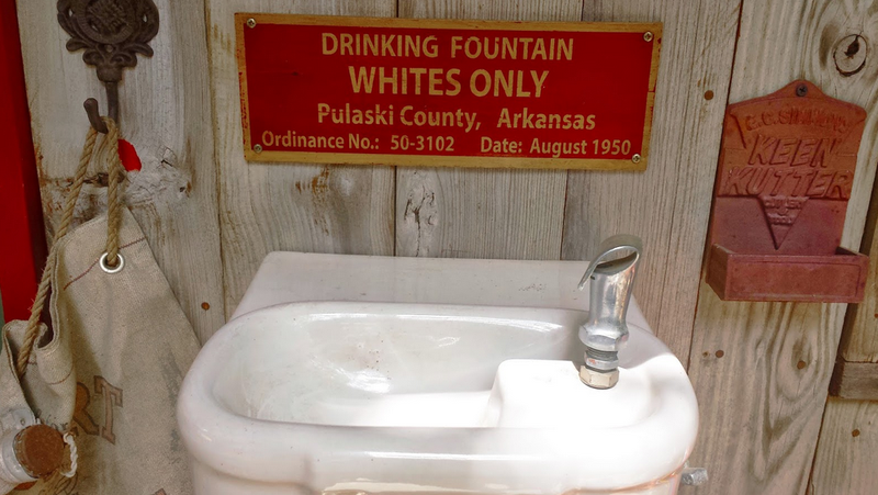 JPs to take up repeal of 'whites only' drinking fountain