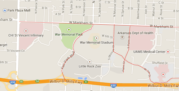 Wholehogsports Traffic Pattern To Change For Hogs Game In Lr