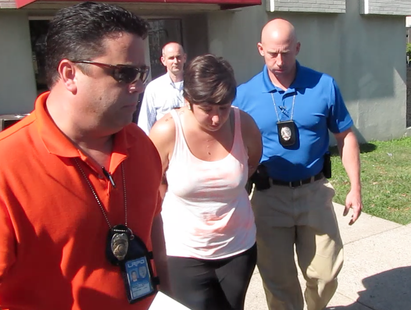Woman arrested in Arvest Bank robbery