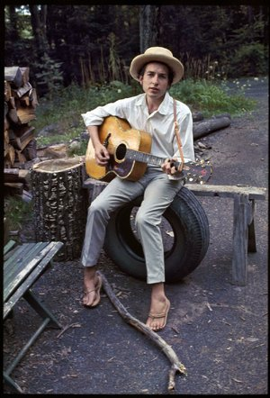 Bob Dylan, photographed circa 1967, around the time he and members of The Band recorded a group of songs together that became known as The Basement Tapes. Bootlegged for several years, an album was finally issued in 1975. The Basement Tapes Complete: The Bootleg Series 11, a six-CD boxed set, was issued Nov. 2.