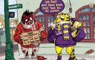 2014 Razorback Game Day Cartoons