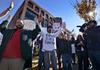 Protestors in Fayetteville