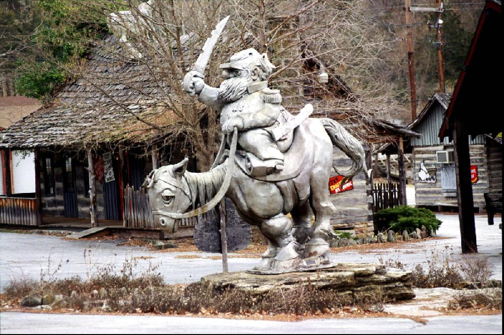 Notice: Abandoned Arkansas theme park Dogpatch to be sold March 3