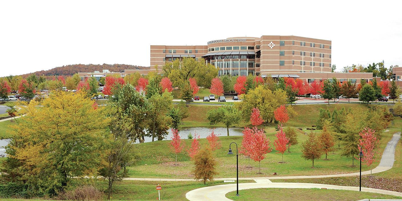 Fayetteville 39 s washington regional medical center hopes to for Deck builders fayetteville ar
