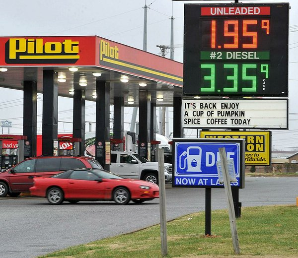 gas prices lowest since  u0026 39 09  state averages  2 31