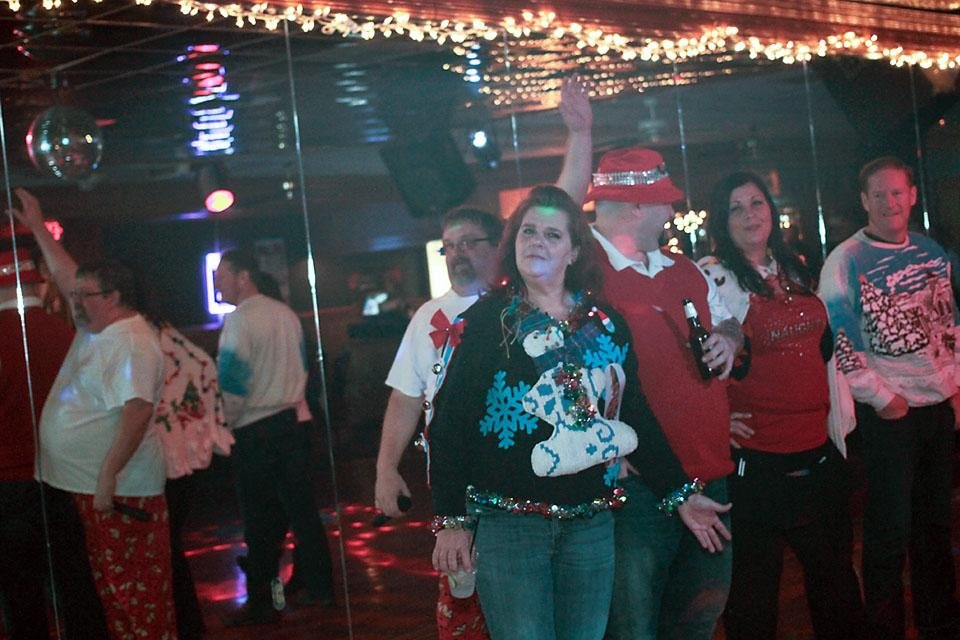 1d4e7f7008 Ugly Sweater Contest and Pajama Party Dec. 19, 2014, at Bogie's Nightclub  in North Little Rock. Photos by Sydney Frames