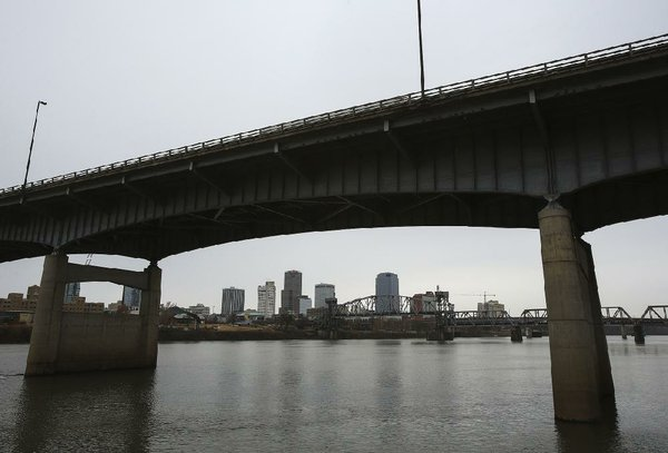 Pier protection cell underneath I-30 bridge damaged over weekend