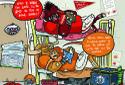 2014 Razorback Game Day Cartoons