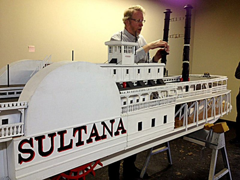 Teacher builds replica of historic steamboat