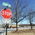 Traffic flows through the intersection of Sain and Front streets Tuesday near Panera Bread in Fayett...