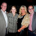 Chuck and Suzy Fehlig, from left, and Biffy Fletcher and Luke Briggs help support the American Heart...