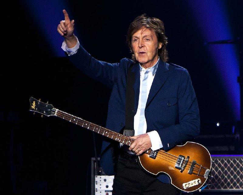 Paul McCartney to play Verizon Arena in North Little Rock
