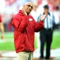 Arkansas receivers coach Michael Smith, the last Razorbacks assistant to sign an extension, is repor...