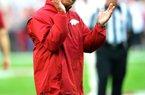 Arkansas receivers coach Michael Smith.