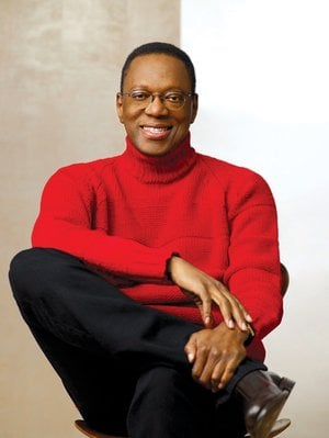 Financial guru and author Alvin Hall will speak on Sunday at the Fayetteville Public Library.