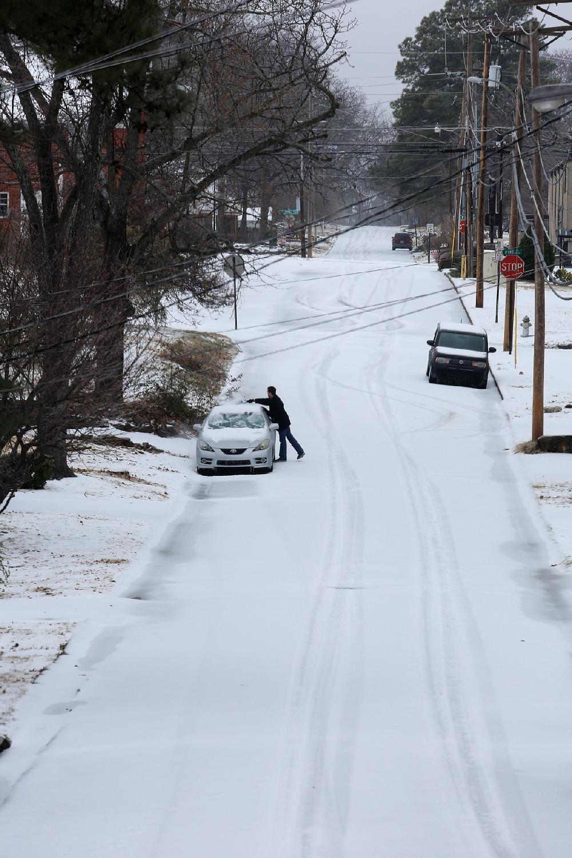 Arkansas Winter Storm - Feb  16