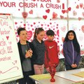 Lingle students Josie Stitt (from left), Kelsey Byrd, Reid Renfrow, Arianna Arriola and Abigail Papp...