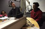 Pulaski Robinson junior athlete T.J. Hammonds and linebacker coach and strength and conditioning coach Brian Maupin were in studio guests on the Recruiting Thursday radio show.
