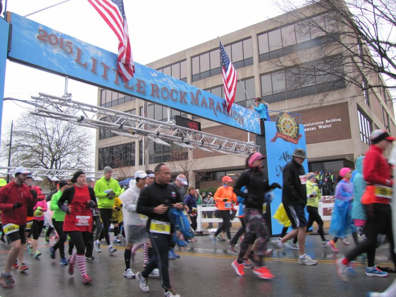 df8b282843d Runners hit streets for 13th Little Rock Marathon