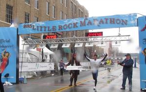Long, Zinkus seize 2015 Little Rock Marathon titles