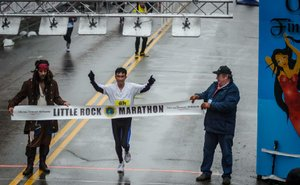 2015 Little Rock Marathon - Matt McClenahan