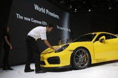 The new Porsche ...
