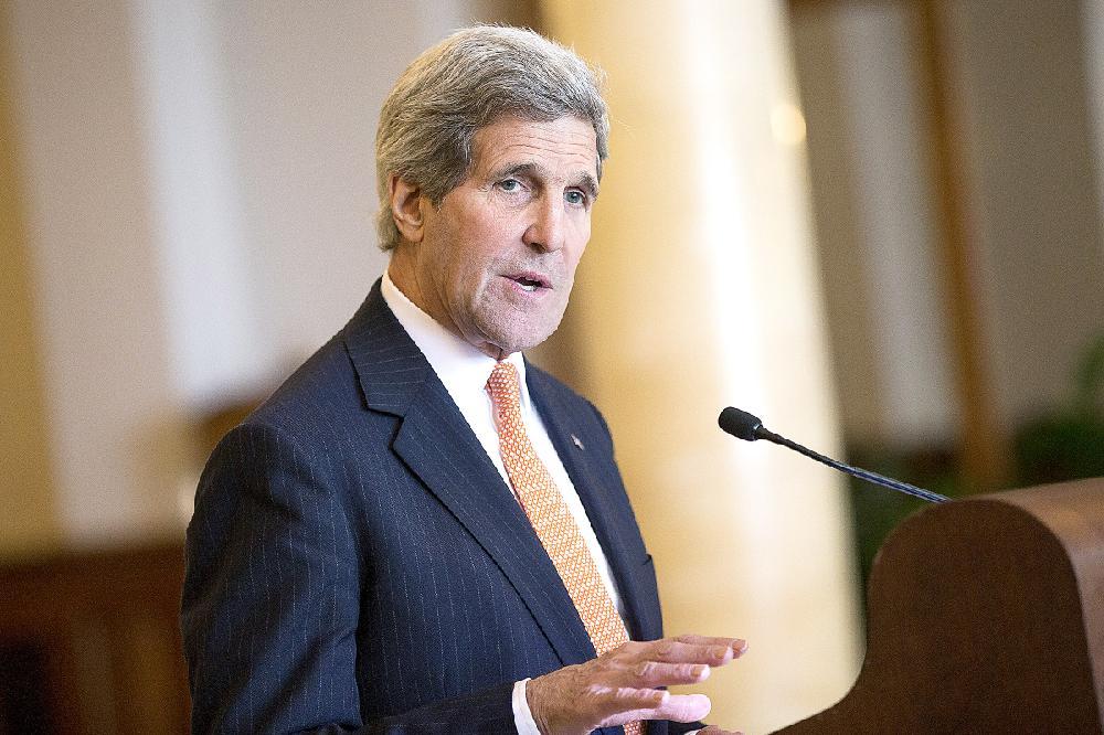 U.S. Secretary of State John Kerry, after a bilateral ... Javad