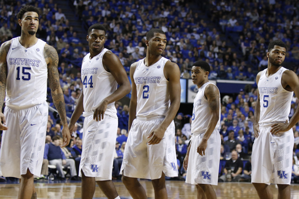Kentucky Basketball What The Florida Win Means To The: No Blueprint Filed To Beat Kentucky