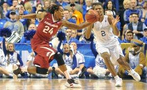 SEC hoops Arkansas v...
