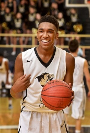 Bentonville guard Malik Monk averaged nearly 27 points per game this past season, but the junior is still searching for ways to improve his game.