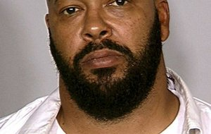 "This August 2008 file photo provided by the Las Vegas Metropolitan Police Department shows rap music mogul Marion ""Suge"" Knight."