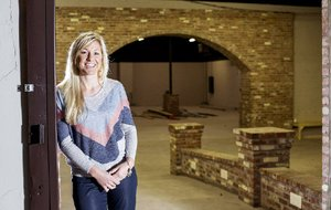 NWA Democrat-Gazette/JASON IVESTER --04/22/2015-- April Seggebruch, co-founder of Movista; photographed on Wednesday, April 22, 2015, inside The Icehouse in downtown Bentonville for nwprofiles