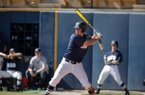 Oral Roberts senior Anthony Sequeira bats during this undated photo.