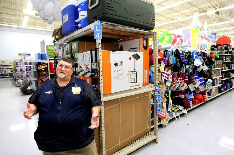 Gary Kealy A Sporting Goods Employee At Wal Mart Is One Of The Companys  Employees Who Recently Got A Pay Raise He Said He Is Using The Money To