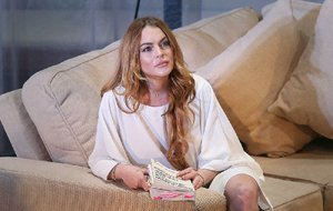 Lindsay Lohan is shown in this Tuesday, Sept. 30, 2014 file photo.