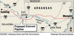 Coastal Spill Raises Jitters About Firm S Arkansas Pipe Bid
