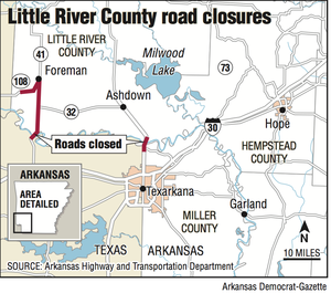 Little Red River Arkansas Map.Angst To Grow As Red River Arkansas Rise