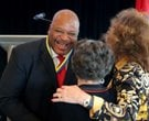 Keith Jackson honored by Rotary Club