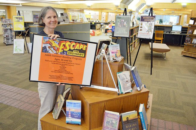 Library holds first summer reading program for adults