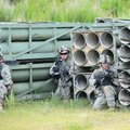Soldiers from the Arkansas Army National Guard's Company A, 1st Battalion, 153rd Infantry Regiment m...