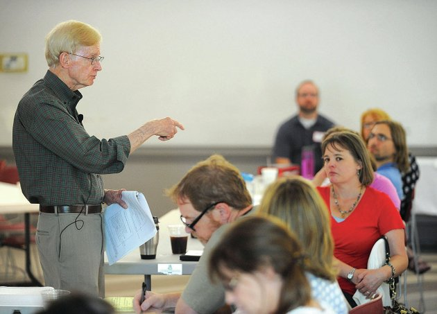garry-landreth-founder-of-the-center-for-play-therapy-at-the-university-of-north-texas-speaks-friday-while-leading-a-workshop-for-counselors-and-students-for-play-therapy-at-st-pauls-episcopal-church-facilitated-by-a-new-office-for-play-therapy-at-the-university-of-arkansas