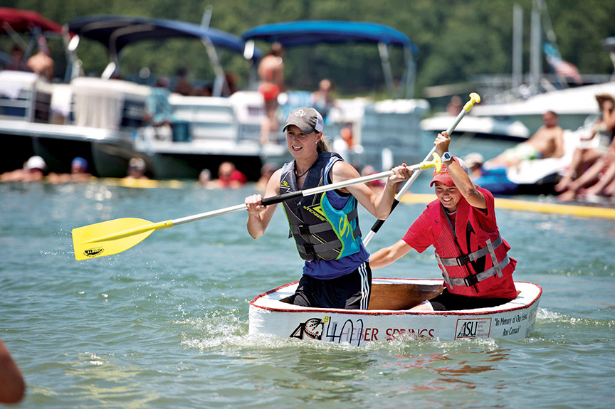 Cardboard boat races set for july 25