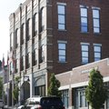 The Fayetteville Chamber of Commerce building at 123 W. Mountain Street is next to the City Administ...