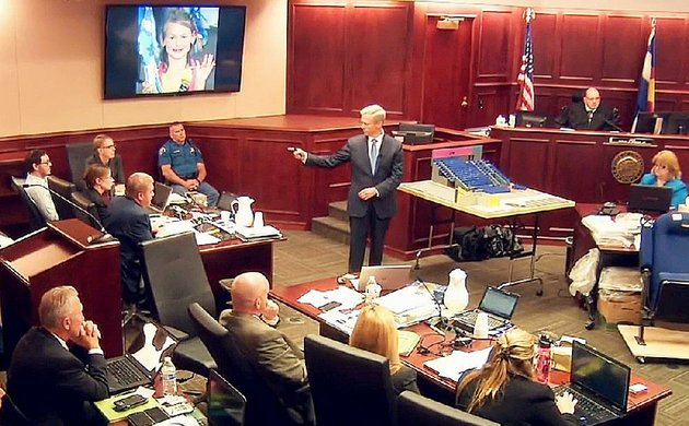 in-this-video-image-lead-prosecutor-george-brauchler-gives-closing-arguments-thursday-in-centennial-colo-in-the-trial-of-james-holmes-background-left